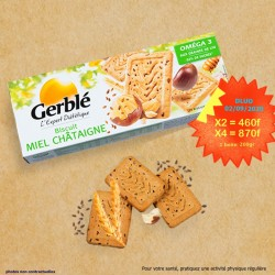 biscuit miel chatainge GERBLE