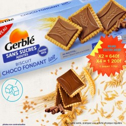 2x GERBLE biscuits fondant...