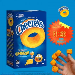 CHEEZELS lot de 6  boites