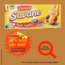 4x petits biscuits Lapin au...