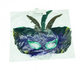 Masque carnaval multicolore